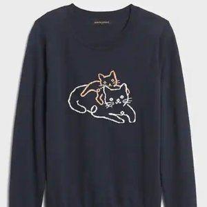Banana Republic Kitty Cat Sweater - XS